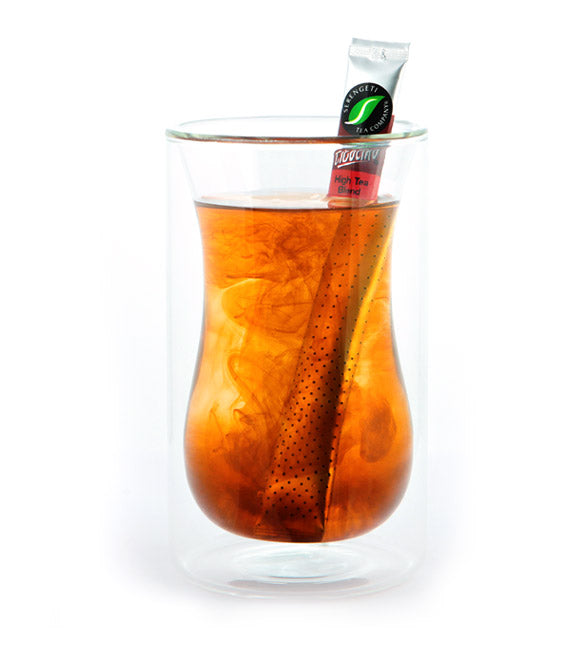 Serengeti Tea Double Glass Floating Cup