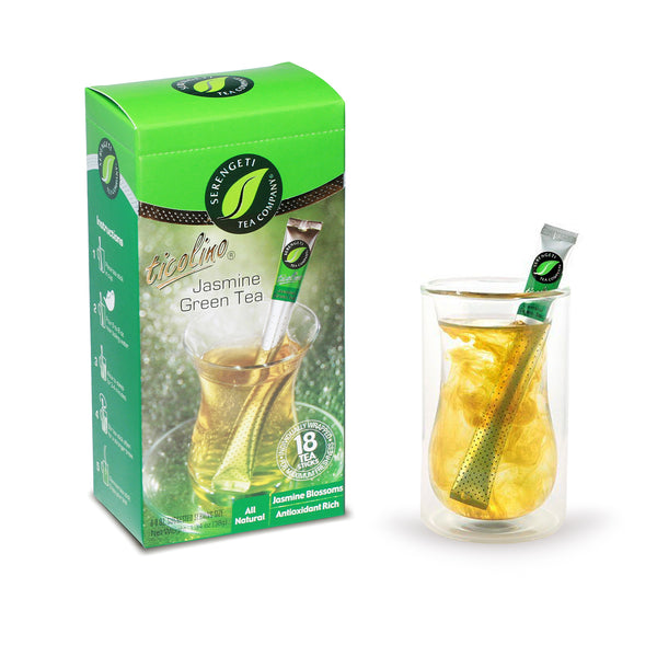 Serengeti Tea Jasmine Green Tea Sticks
