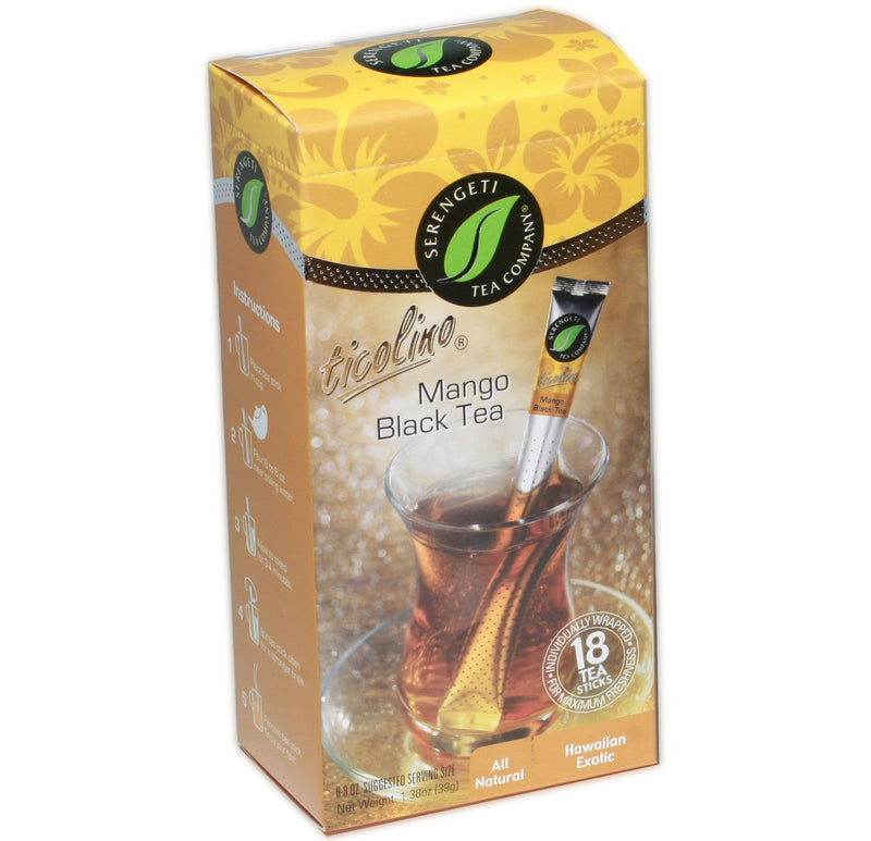 Serengeti Tea Mango Black Tea Sticks