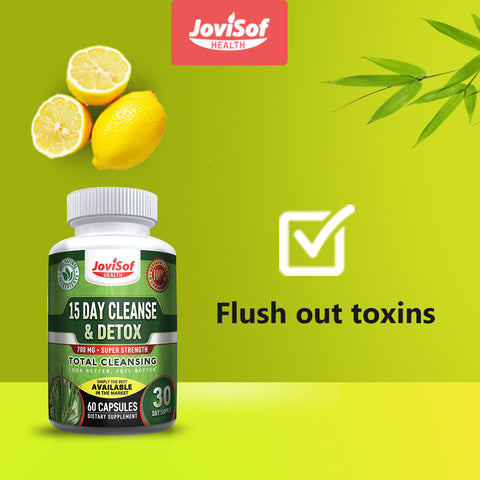 15 Day Colon Cleanse Detox Supplement for Weight Loss