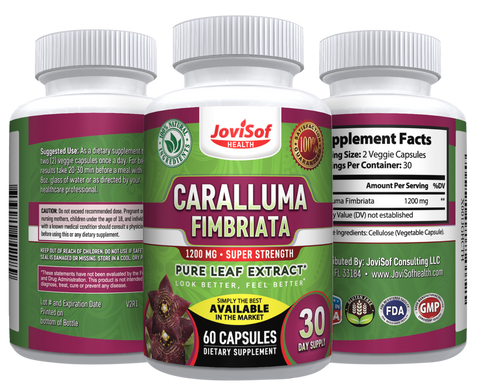 Image of Caralluma Fimbriata Leaf Extract - Weight Loss Pills