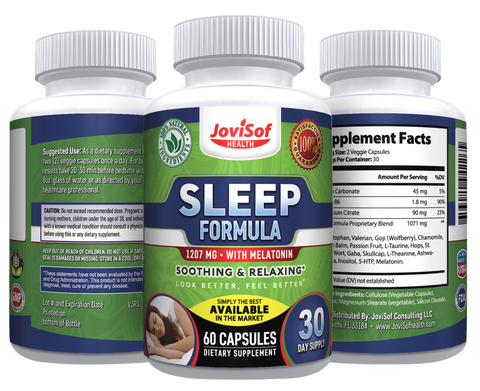 Image of Natural and Organic Sleep Aid, Sleeping Pills Supplement