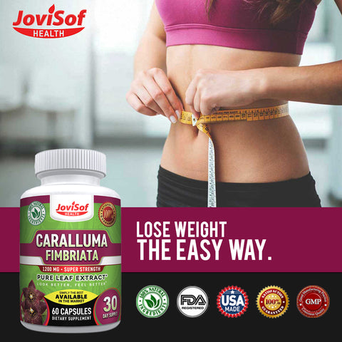 Image of Caralluma Fimbriata Leaf Extract - Weight Loss Pills Carb Blocker Fat Burner