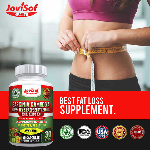 Pure Garcinia Cambogia Green Tea Extract for Weight Loss