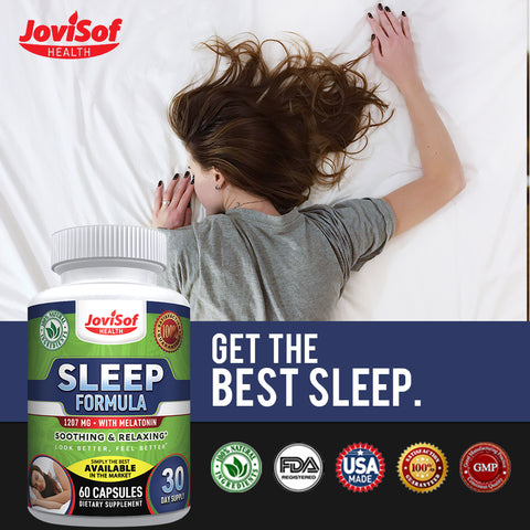 Natural and Organic Sleep Aid, Sleeping Pills Supplement