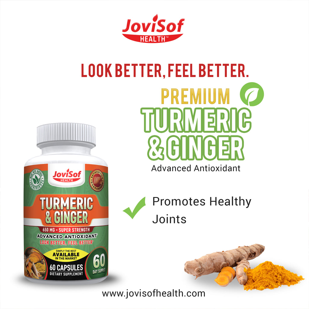 Best Turmeric Curcumin and Ginger Capsule Supplements