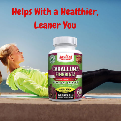 Strongest Caralluma Fimbriata Extract for Weight Loss 1200 Mg. Fat Burner Appetite Suppressant Lose Weight Carb Blocker Fat Blocker Metabolism Booster 100% Vegan Non-GMO Made in USA 2 Months Supply