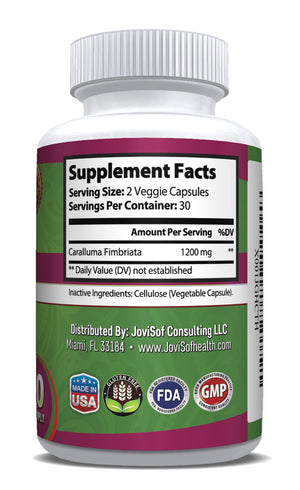 Caralluma Fimbriata Leaf Extract - Weight Loss Pills Carb Blocker Fat Burner