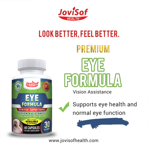 Image of Best Eye Formula Support and Vision Supplement
