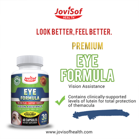 Best Eye Formula Support and Vision Supplement