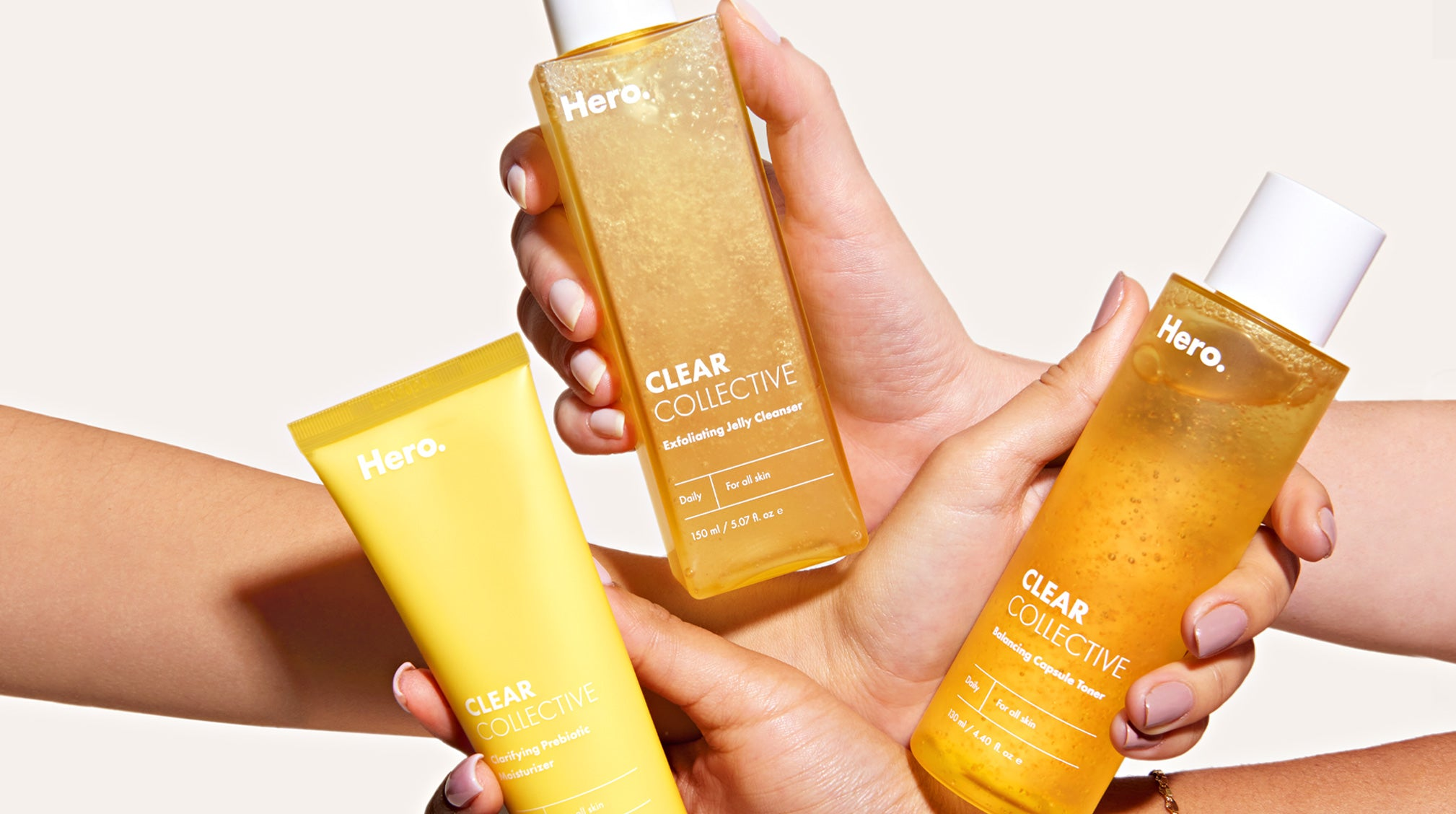 Supercharge Your Skincare Routine With the Clear Collective Trio