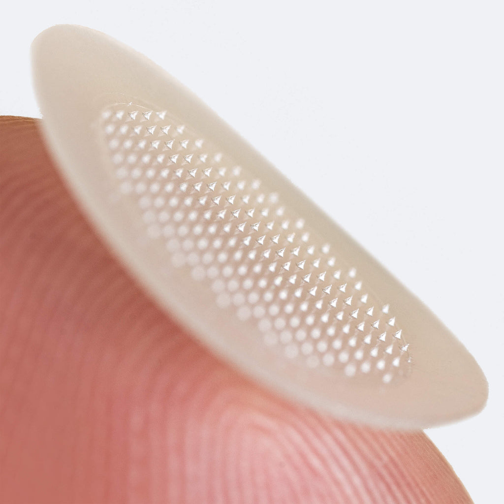 Macro shot of Micropoint for Blemishes microneedles