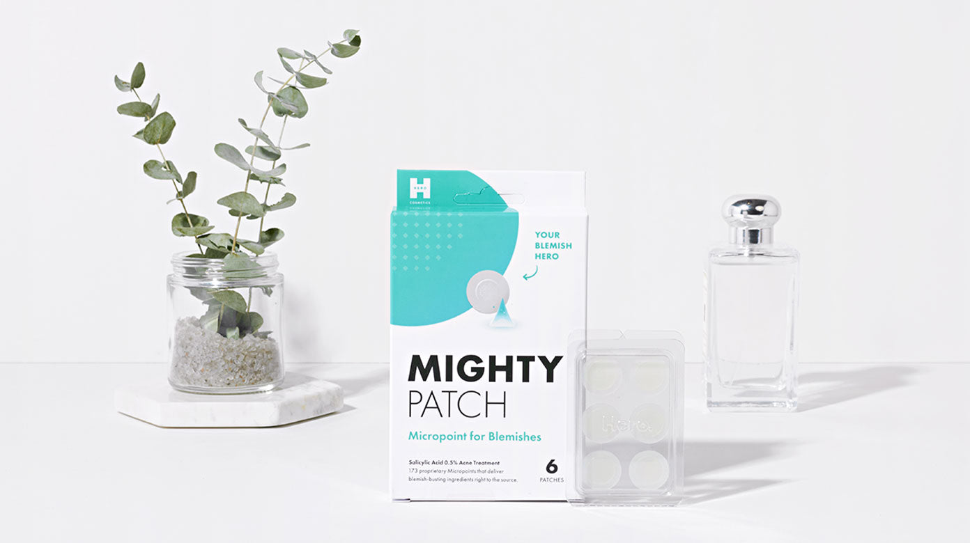 Micropoint for blemishes early stage pimple patch