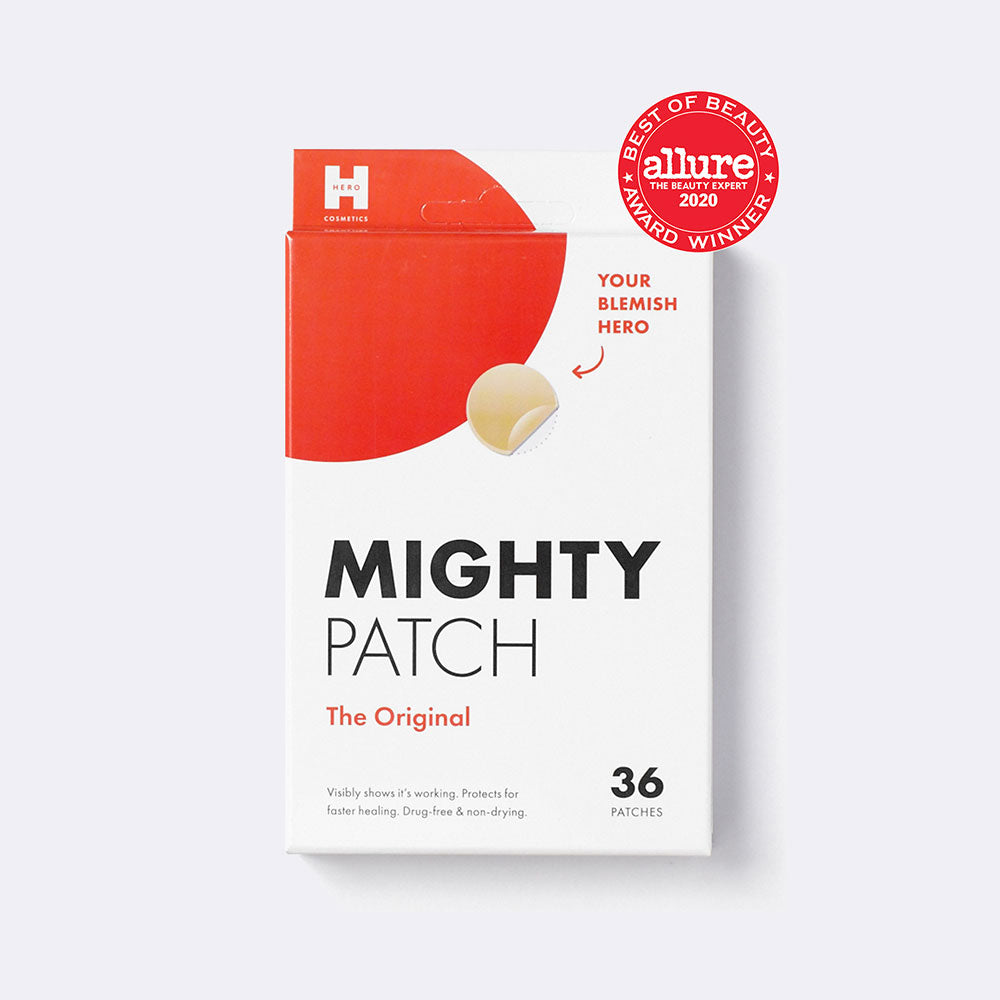 Mighty Patch Original is a winner of the Allure 2020 Best of Beauty Award