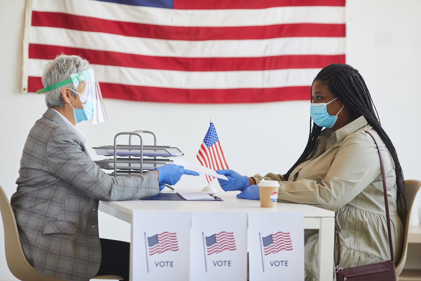 Volunteering to become a poll worker