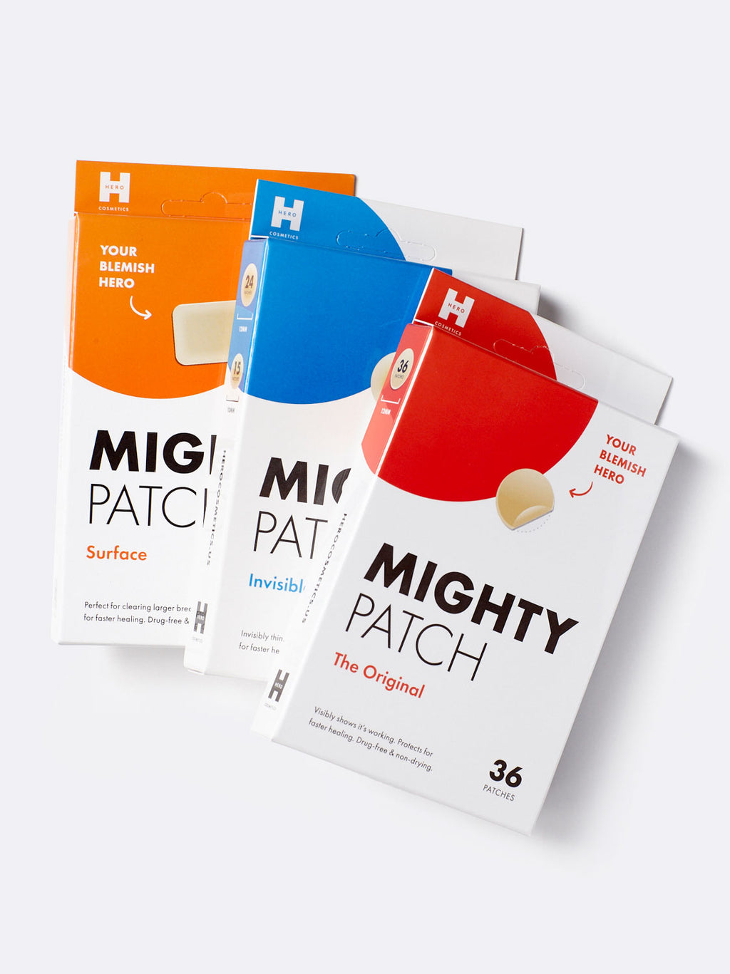 Mighty Patch Trio Bundle