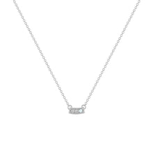 SIGNATURE MINI PENDANT | WHITE GOLD