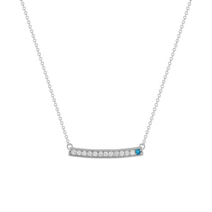 kait and toby large white gold gemstone necklace with december birthstone blue topaz
