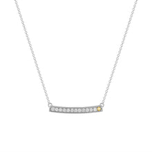 kait and toby large white gold gemstone necklace with november birthstone citrine