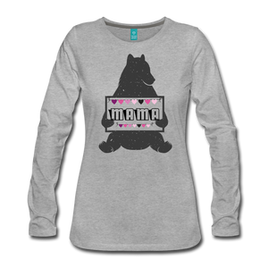Mama Bear Women's Long Sleeve T-Shirt - Roc City Apparel