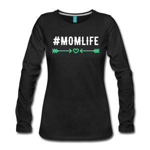 #MomLife Women's Long Sleeve T-Shirt - Roc City Apparel