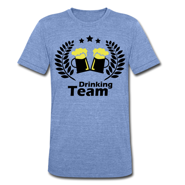 Beer Drinking Team Unisex Tri-Blend T-Shirt Perfect T-shirt For Everyday Wear - Roc City Apparel
