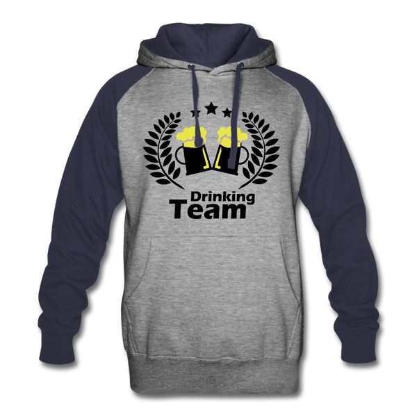 Beer Drinking Team Colorblock Hoodie - Roc City Apparel