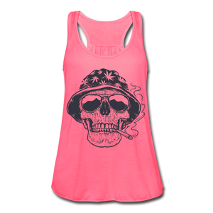 Marijuana 420 Women's Cute Flowy Summer Tank Top - Roc City Apparel