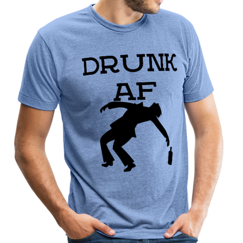 Drunk AF Funny Men's T-Shirt - Funny Drinking Shirts - Great Gift Idea - Roc City Apparel