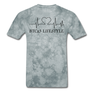 BTCx3 Lifestyle Heartbeat Unisex Short Sleeve T Shirt - Roc City Apparel