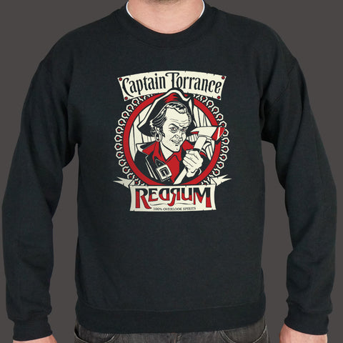 Captain Torrance Red Rum Sweatshirt - Roc City Apparel