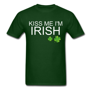Kiss Me I'm Irish Just Kidding I'm Italian Men's Shirt - Roc City Apparel