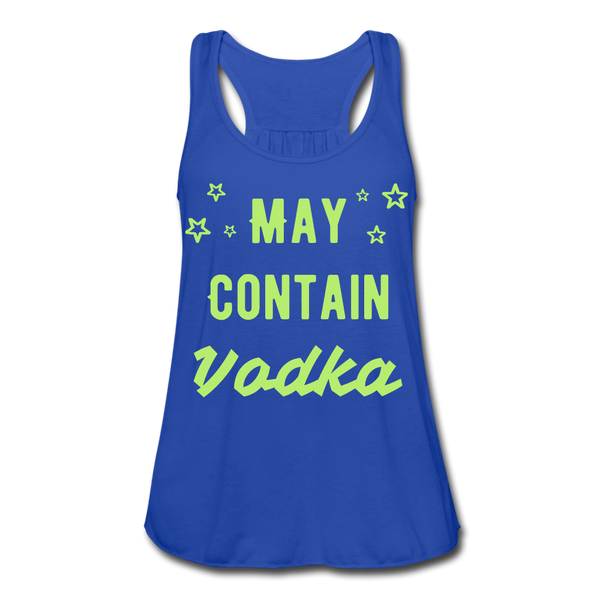 May Contain Vodka Women's Flowy Tank Top - Roc City Apparel