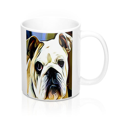 Bulldog Mug-Ceramic Mugs- #bulldoglovers #bulldogcoffeemug #bulldogs