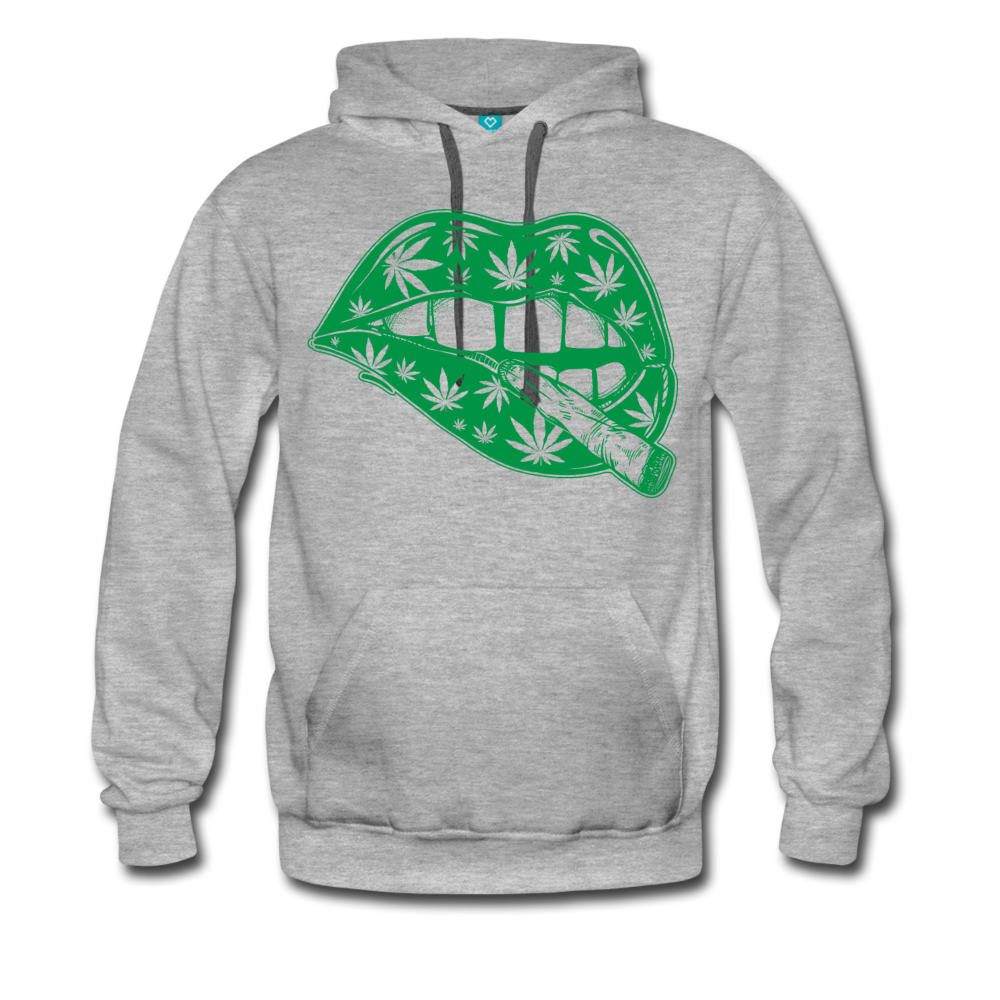 Marijuana Weed Lips Hoodie - Roc City Apparel