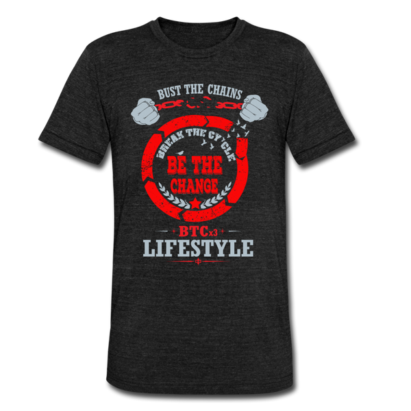 BTCx3 Lifestyle Unisex Tri-Blend T-Shirt - Roc City Apparel