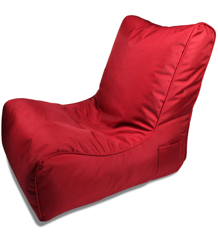 Sitzsack Sofa Accoustic Wildberry Red