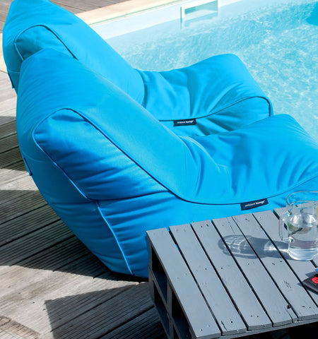 Sitzsack Liege - Conversion Lounger outdoor lila