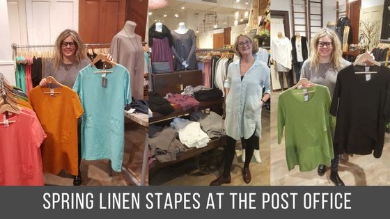 Spring Linen Line at the Post Office