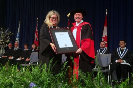 Speakers share secrets of success with Niagara College Class of 2016