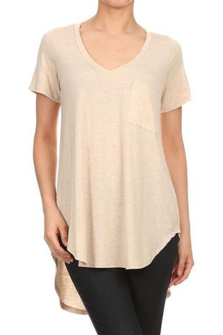 Short Sleeve V-neck Top shannon Passero