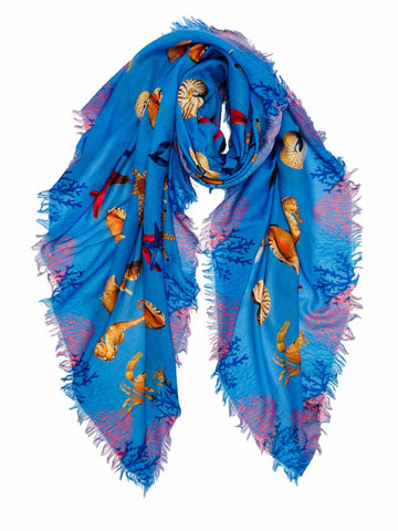 Mermaid Ocean Animal Scarf
