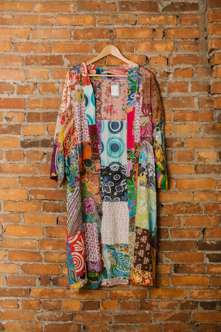 Patchwork Kimono Cardigan Coverups - The Post Office by Shannon Passero. Fashion Boutique in Thorold, Ontario