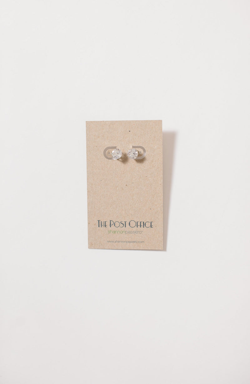 Stone Studded Earrings Jewelry - The Post Office by Shannon Passero. Fashion Boutique in Thorold, Ontario