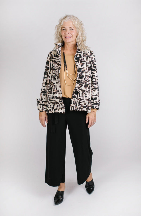 Abril Jacket Tops - The Post Office by Shannon Passero. Fashion Boutique in Thorold, Ontario