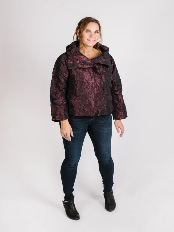 Rachelle Jacket Tops - The Post Office by Shannon Passero. Fashion Boutique in Thorold, Ontario