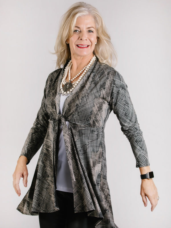 Lori Jacket Tops - The Post Office by Shannon Passero. Fashion Boutique in Thorold, Ontario