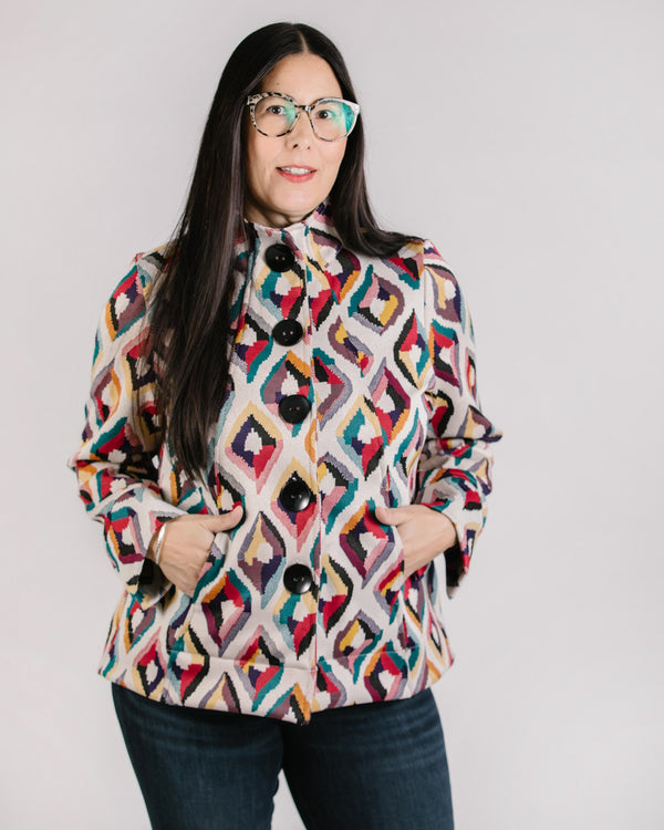Marina Jacket Tops - The Post Office by Shannon Passero. Fashion Boutique in Thorold, Ontario