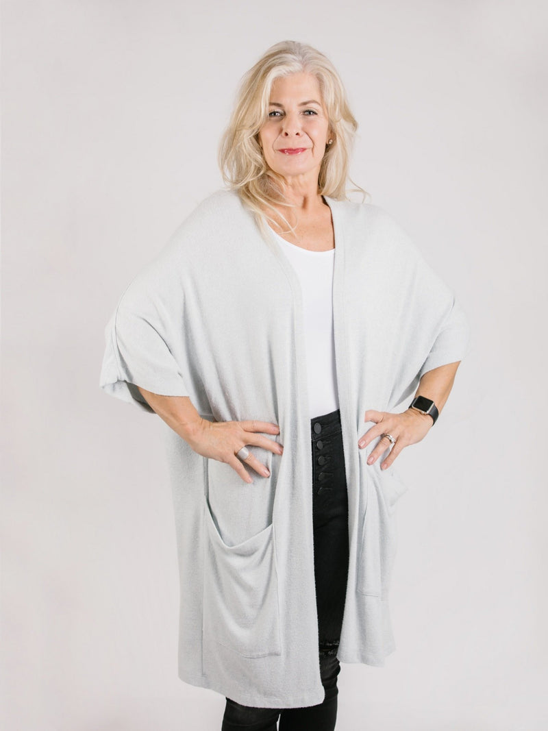 Lia Open Cardigan Tops - The Post Office by Shannon Passero. Fashion Boutique in Thorold, Ontario