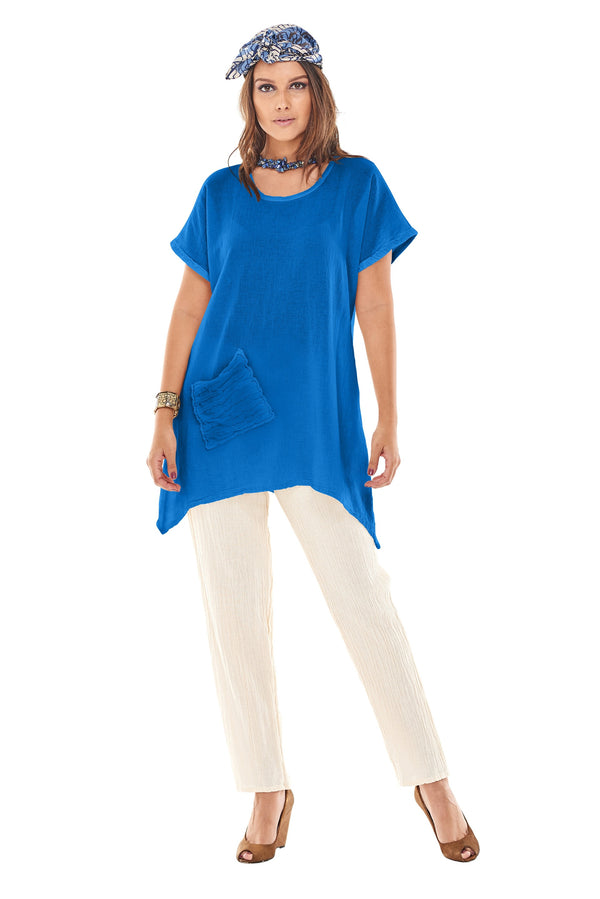 Faith Tunic Linen - The Post Office by Shannon Passero. Fashion Boutique in Thorold, Ontario